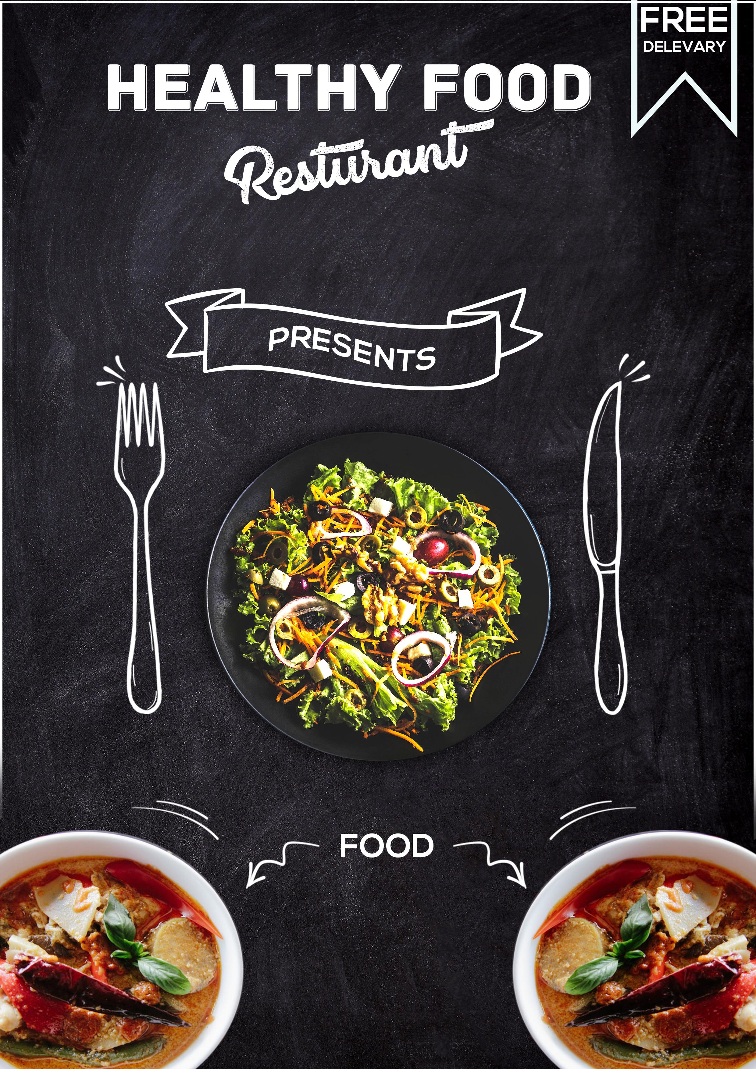تطبيق أكل صحي - Healthy Food App